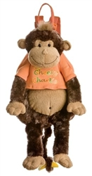 Cheeky Charlie Monkey Backpack