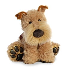 "Fox Terrier Big Paw by Aurora 10"" H in Sitting Position"