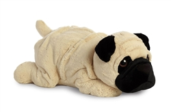 "Graham Pug by Aurora S'mores Collection 25"" L"