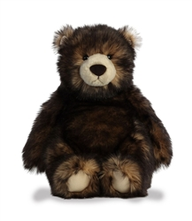 "Hicks the Bear by Aurora World 12"" H in Sitting position"