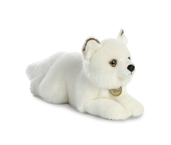"Arctic Fox Miyoni Collection by Aurora 11"" Long"