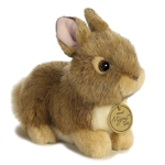 "Baby Bunny Tan Miyoni Tots Collection7"" L"