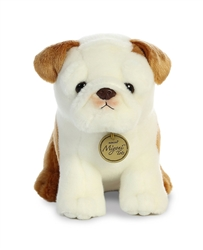 "Bulldog Pup Miyoni Tots Collection  by Aurora 9"" High"