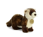 "Auora Black Footed Ferret Miyoni Collection 6"" High 10"" Long"