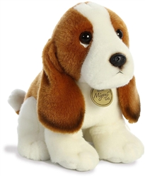 "Basset Hound Pup Miyoni Tots Collection  by Aurora 8"" High"