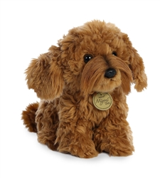"Labradoodle Pup Miyoni Tots Collection  by Aurora 7"" High"