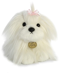 "Maltese Pup Miyoni Tots Collection  by Aurora 9"" Long"
