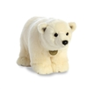 "Polar Bear Standing Miyoni Collection by Aurora 14"" Long"