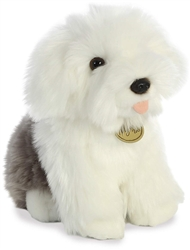 "English Sheepdog  Pup Miyoni Tots Collection  by Aurora 8"" High"