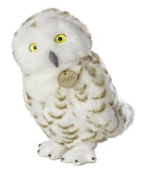 "Aurora Snowly Owl Miyoni Collection 9"" Height"