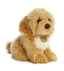 "Spoodle Pup Miyoni Tots Collection  by Aurora 8"" High"