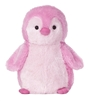 "Pink Penguin Destination Station by Aurora 11"" High"