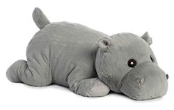 "Pudding Hippo by Aurora S'mores Collection 25"" L"