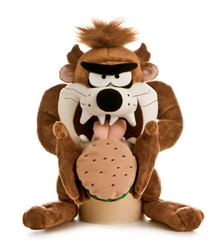 "Burping Taz with Hamburger 11"" High"