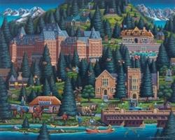Banff Dowdle Folk Art 500 Piece Puzzle