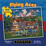 Flying Aces Dowdle 100 Piece Puzzle