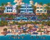 South Beach Dowdle Folk Art 500 Piece Puzzle