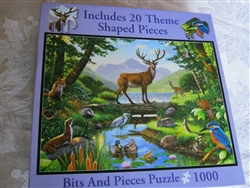 Bits & Pieces Woodland Harmony 1000-Piece Puzzle