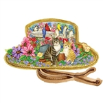 Bits & Pieces Sunshine Garden Hat Shaped 700-Piece Puzzle