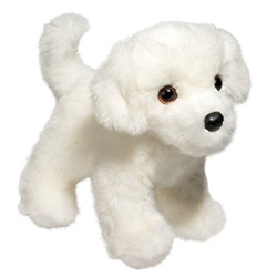 "Bailey Bichon Floppy 10"" L"