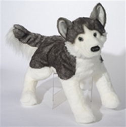 "Barker Husky Dog Large 30"" long with tail"