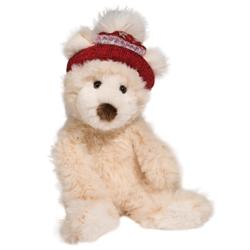"Brulee Cream Bear with Hat  11"" H"