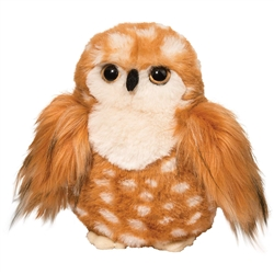 "Deacon Brown Owl by Douglas Cuddle Toy 7"" H"