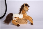 Glisten Golden Appaloosa Horse