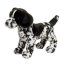 "Hunter Black and White Pointer by Douglas Cuddle Toy 16"" L"