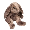 "Latte Muli-toned bunny small 7"" high sitting"