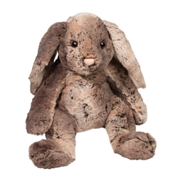 "Latte Muli-toned Bunny Medium 10"" high sitting"