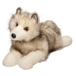 "Porter Arctic Fox by Douglas Cuddle Toy 17"" Long"