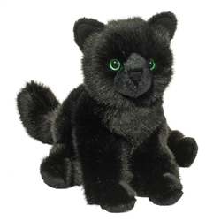 "Salem Black Cat by Douglas 9"" High Sitting"