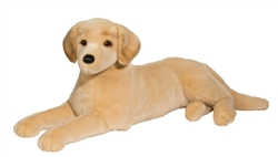 "Scout Yellow Lab Lying Large 32"" L"
