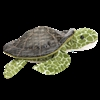 "Seaweed Sea Turtle 9"" L"