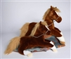 Maple Chestnut Horse 16""