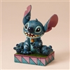 Jim Shore Enesco Disney Traditions Stitch Ohana Means Family 4""