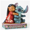 "Jim Shore Enesco Disney Traditions Stitch Ohana 5"" H"