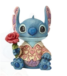 "Jim Shore Enesco Disney Traditions Stitch Valentine 6"" H"