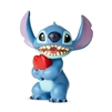 Enesco Disney Showcase Stitch Heart Mini Figurine 2.5""