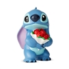 "Enesco Disney Showcase Stitch with Flowers Mini Figurine 2.5"" H"