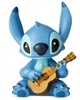 "Enesco Disney Showcase Stitch Guitar Mini Figurine 2.5"" H"
