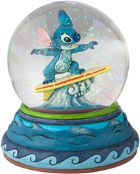"Jim Shore Enesco Disney Traditions Stitch Waterball 5.5"" High"