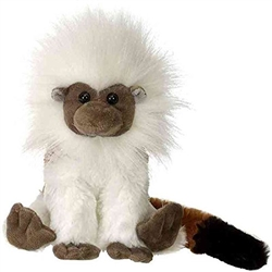 "Cotton Top Tamarin 8"" H"