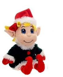 "Santa's Secret Elf Girl 12""h"