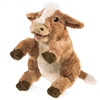 "Brown Cow Puppet 13"" Long by Folkmanis"