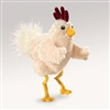 "Funky Chicken Puppet by Folkmanis 12"" H"