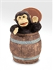 Monkey in Barrel Puppet