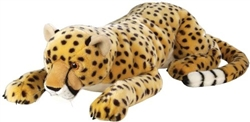 "Cheetah Lying Large 30"" L"
