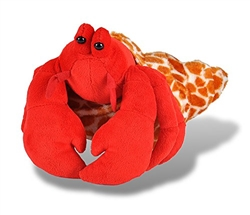 "Hermit Crab Cuddlekins Plush Toy 12"" L"